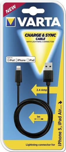 Varta USB töltőkábel Apple Lightning-on 57941101401 Hordozható adapter