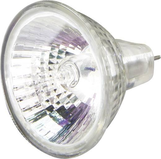 Nagyfeszültségű halogén izzó 34 mm sygonix 12 V G4 10 W, melegfehér, EEK: C