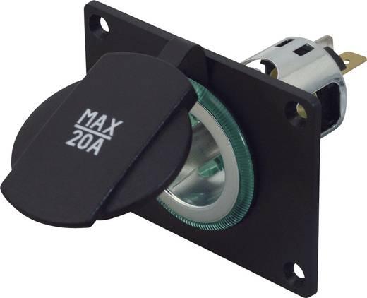 Beépíthető szivargyújtó csatlakozó, max. 20 A, ProCar Power