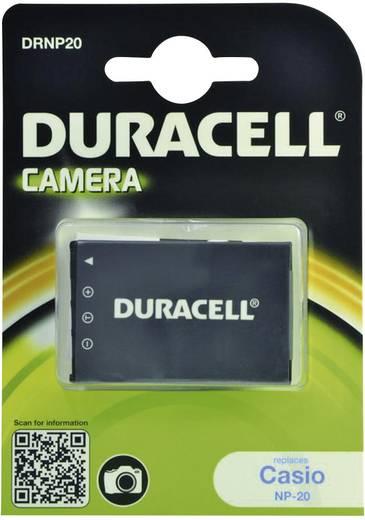 Kamera akku Duracell Megfelelő eredeti akku NP-20 3.7 V 700 mAh