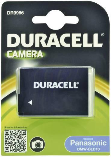 Kamera akku Duracell Megfelelő eredeti akku DMW-BLD10E 7.4 V 950 mAh