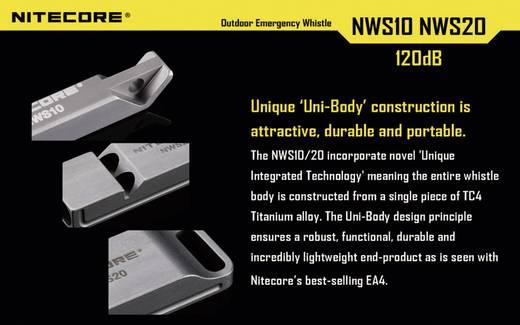 NiteCore Vészjelző síp, NiteCore NWS20 Vészjelző síp, NWS20