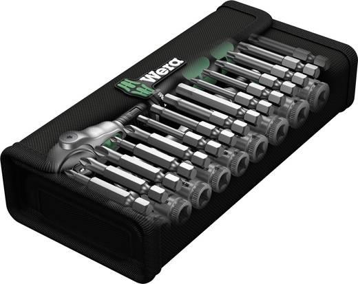 """Dugókulcs készlet 1/4"""" (6.3 mm) 28 részes Wera 8100 SA Zyklop Speed 05004016001"""