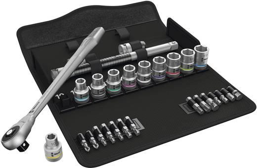 """Racsnis dugókulcs készlet, króm-molibdén 1/2"""" (12.5 mm) Wera Zyklop Metal 8100 SC 7"""