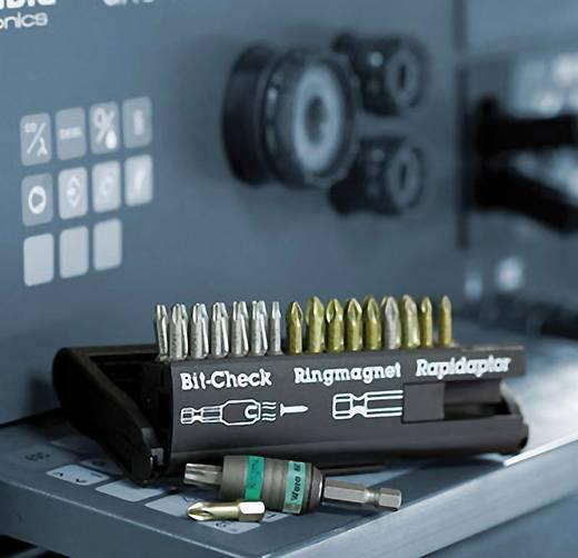 BIT készlet, mágneses betéttartóval, 10 részes Wera 8800-9 TZ