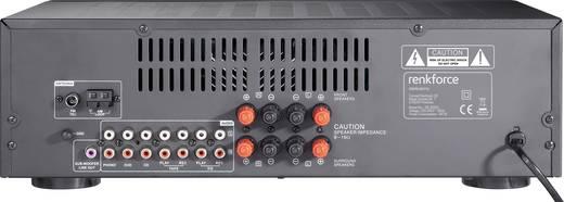 Renkforce SR-2000U Sztereo vevő, 2 x 50 W, Fekete