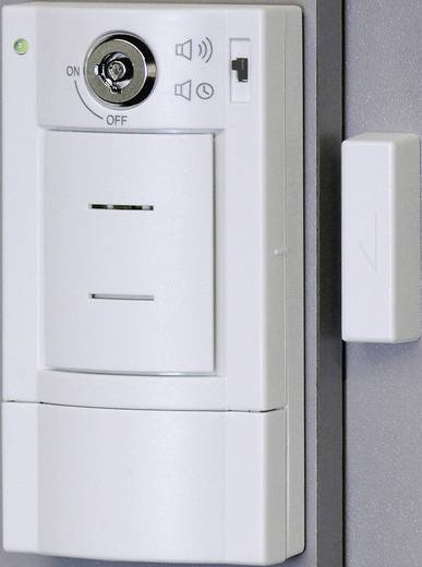 Ajtóriasztó kulcsos kapcsolóval 95 dB 33609