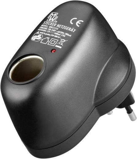 Feszültségátalakító 230 V-ról 12 V-ra, Goobay SPW 1000 EUP