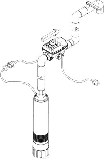 Elektronikus szivattyú vezérlő rendszer, TIP 30241