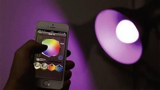 LED 125 mm Lümen 230 V E27 7 W = 50 W Rgb, Melegfehér, tartalom: 1 db
