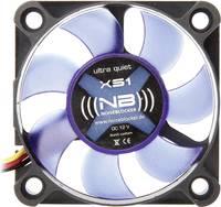 Számítógépház ventilátor 50 x 50 x 10 mm, NoiseBlocker BlackSilent XS1 NoiseBlocker