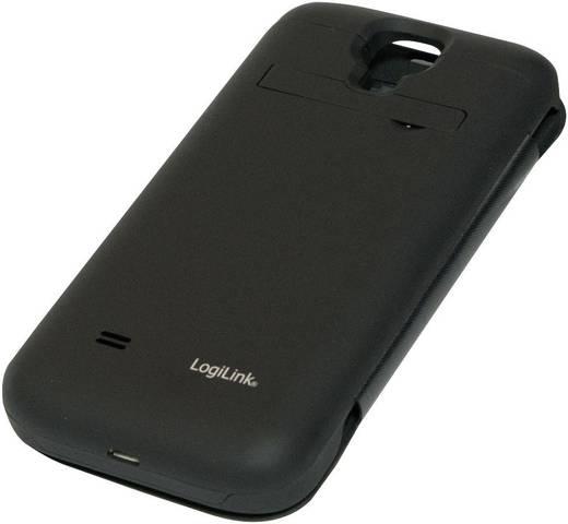 Powerbank, hordozható mobil tartalék akku, Samsung S4 tokba építve Li-Po 3200 mAh LogiLink PA0072