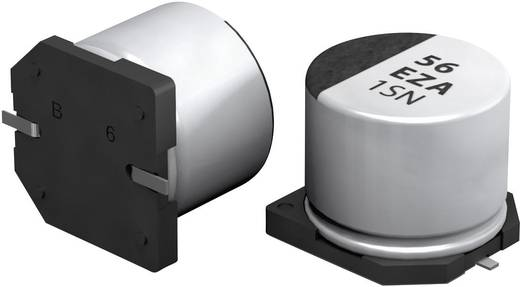 Elektrolit kondenzátor SMT 56 µF 25 V 20 % (Ø x Ma) 6.3 mm x 5.8 mm Panasonic EEHZA1E560P 1 db