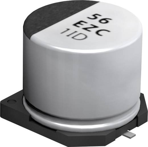 Elektrolit kondenzátor SMT 22 µF 63 V 20 % (Ø x Ma) 6.3 mm x 7.7 mm Panasonic EEHZC1J220XP 1 db