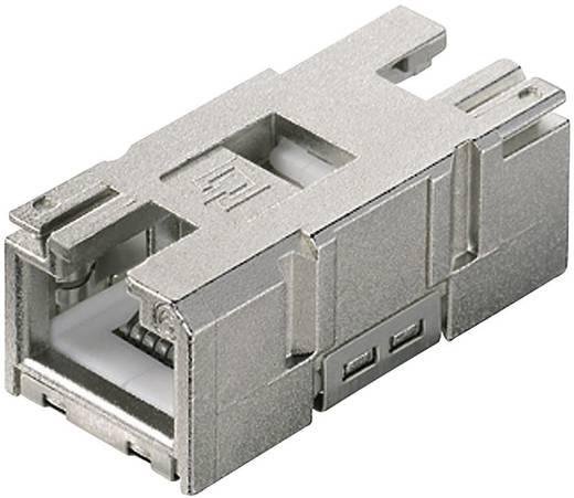 STX V1 RJ45 csatlakozóaljzat betét Cat.6 csatlakozóaljzat, egyenes Pólus: 8P8C STX V1 Telegärtner Tartalom: 1 db