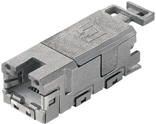 STX V1 RJ45 modulbetét Cat.6A alj, egyenes Pólus: 8P8C Telegärtner J80029A0001