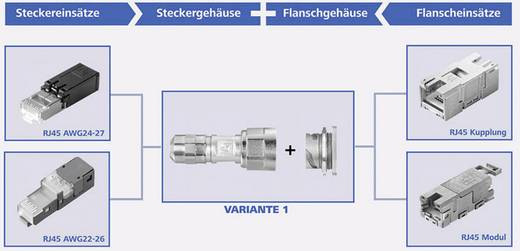 STX V1 peremes ház fém változat 1 STX V1 fém Telegärtner Tartalom: 1 db