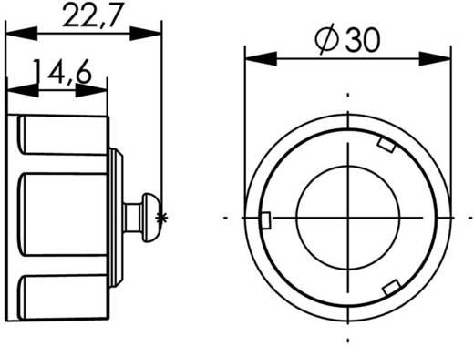 STX V1 Porvédő sapka peremes változathoz 1 STX V1 fekete Telegärtner Tartalom: 1 db
