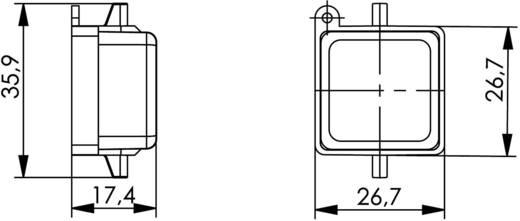 STX V5 Porvédő sapka peremes változathoz 5 STX V5 alumínium Telegärtner Tartalom: 1 db