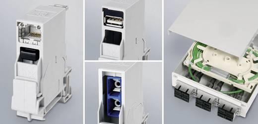 Berendezéstartó sín összekötő USB 2.0 csatlakozóaljzat, beépíthető J80023A0004 élénk szürke Telegärtner