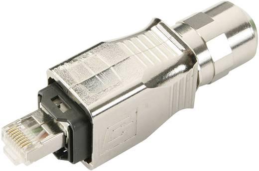 RJ45 dugókészlet változat 14 dugó, egyenes Pólus: 8P8C J80026A0019 fém Telegärtner Tartalom: 1 db