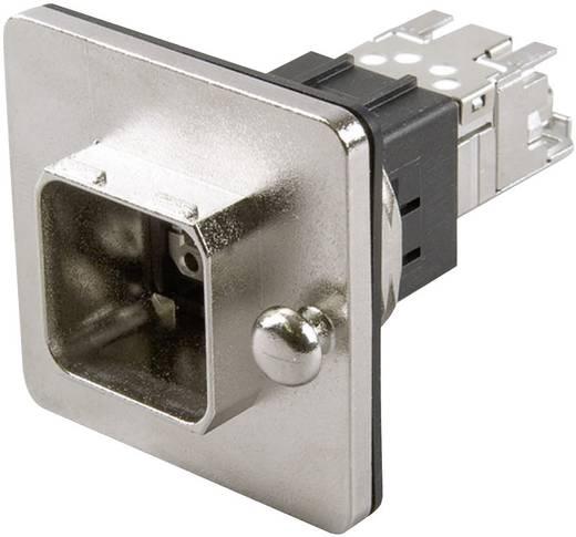 RJ45 peremes készlet változat 14 vázalj, beépíthető Pólus: 8P8C J80020A0013 fém Telegärtner Tartalom: 1 db