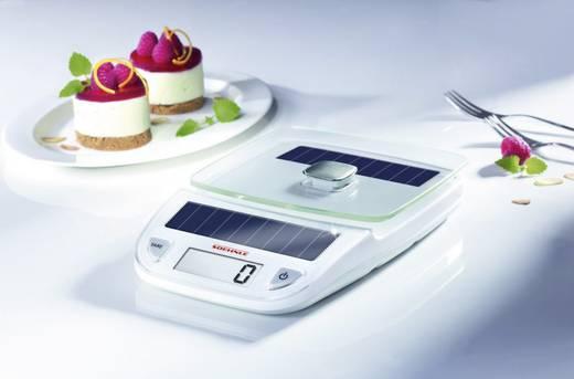 Digitális napelemes konyhai mérleg, fehér, Soehnle 66183 Easy Solar