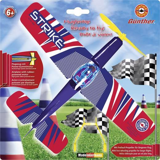 Gumimotoros szabadonrepülős modellrepülő, sikló vitorlázó repülő Günther Flugspiele Strike 1608