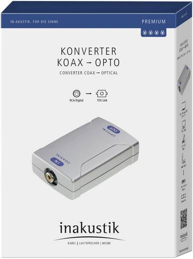 RCA - optikai, Toslink jelátalakító Inakustik Premium Starlight 1180608