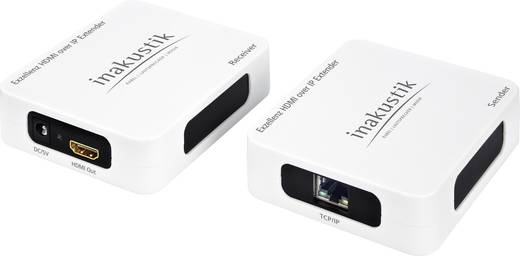 HDMI Extender jeltovábbító max.200m-ig Inakustik Exzellenz 9120013