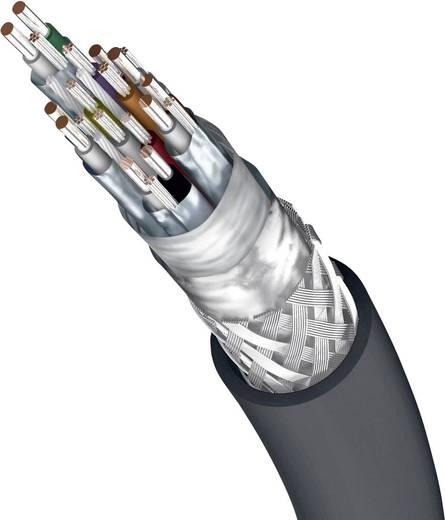 Displayport kábel, többszörösen árnyékolt [1x DisplayPort dugó - 1x DisplayPort dugó] 5 m szürke Inakustik 62805