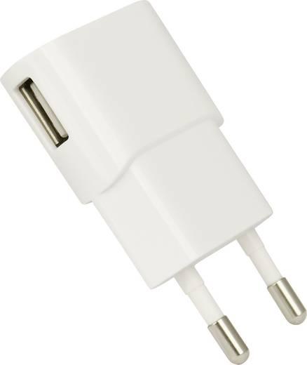 Hálózati USB-s töltő, max. 1200 mA, HN Power HNP06-USBV2-WHITE-C