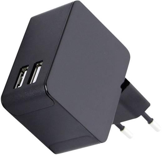 Hálózati USB-s töltő, dual, max. 5000 mA, HN Power HNP13-2USB-C