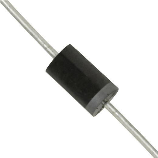 Dióda, ház típus: DO-201, I(F) 3 A, zárófeszültség U(R) 2 kV, Diotec BY2000
