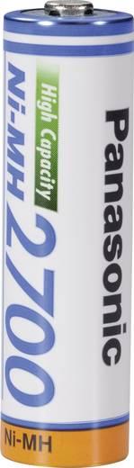 Ceruza akku AA, NiMH, 1,2V 2700 mAh, Panasonic LR06, AA, LR6, AAB4E, AM3, 815, E91, LR6N