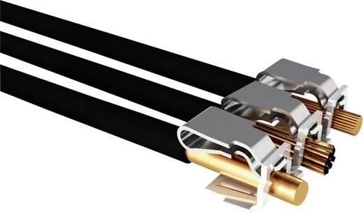 Vezetékösszekötő hajlékony: 0.14-4 mm² merev: 0.2-4 mm² Pólusszám: 3 WAGO 221-413 50 db Átlátszó, Naranc