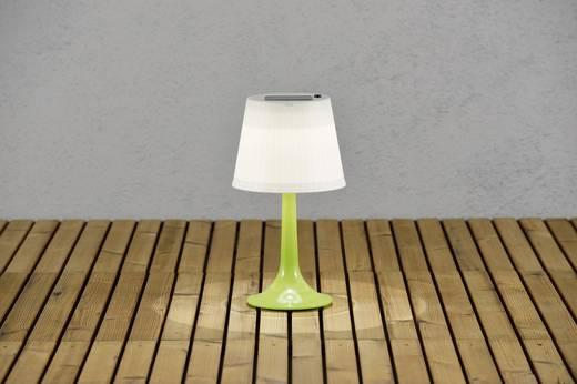 Konstsmide Napelemes asztali lámpa Assisi Sitra 7109-602 Fixen beépített LED-es Zöld