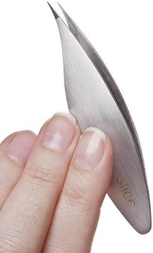 Slice Nemesacél csipesz Kivitel finom hegy Hossz 8.5 cm 10456