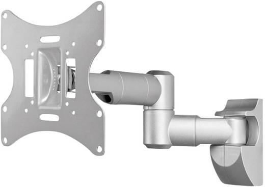 TV fali tartó 17 - 42 Dönthető/Csuklóval mozgatható, ezüst, Goobay TV EasyScope Twin M