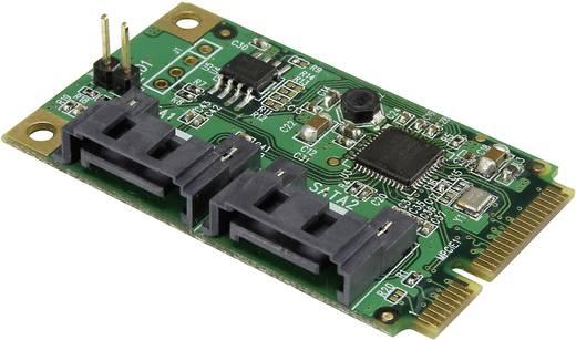 2 portos SATA III mini PCIe host átalakító, Renkforce
