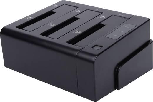 USB 3.0/eSATA merevlemez dokkoló állomás, Renkforce