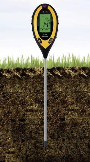 Talaj PH mérő és talajnedvesség mérő készülék, 4 az 1-ben, X4-life
