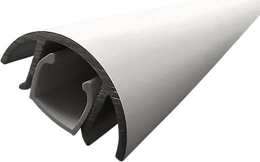Mini formatervezett kábelcsatorna alumíniumból, 200 x 30 x 15 mm ezüst (matt, eloxált) Alunovo