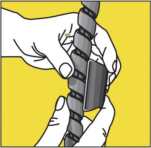 Kábelrendező készlet Sárga 1 készlet 5.04003.1028 Serpa Tartalom: 1 készlet
