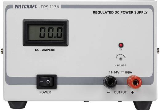 Labortápegység, VOLTCRAFT FPS-1136 11 - 14 V/DC 6 - 8 A 84 W