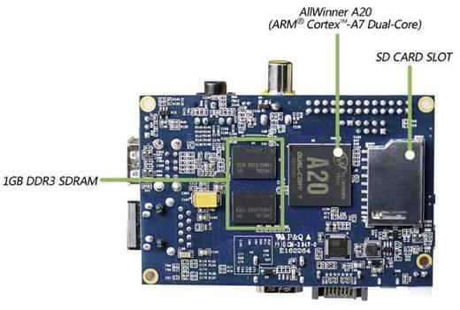 Allnet Banana Pi 1 GB-os meghajtó nélküli programozó építőkészlet