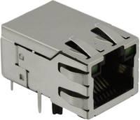 RJ45 beépíthető csatlakozó aljzat, 8P8C, vízszintes, Cat5e, 10/100Base-TX, BEL Stewart Connectors SI-50170-F (SI-50170-F) BEL Stewart Connectors