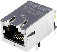 MagJack 10/100Base-TX 5 beépíthető csatlakozó aljzat, 8P8C, vízszintes, BEL Stewart Connectors 08B0-1X1T-03-F (08B0-1X1T-03-F) BEL Stewart Connectors