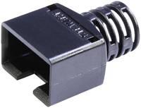 Törésgátló RJ45 csatlakozó dugóhoz, fekete, egyenes, BEL Stewart Connectors 361010-SRX-260-A108 (361010-SRX-260-A108) BEL Stewart Connectors