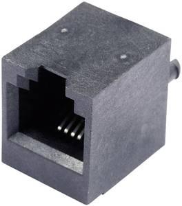 RJ11 beépíthető csatlakozó aljzat, 6P4C, függőleges, BEL Stewart Connectors SS65600-002F (SS65600-002F) BEL Stewart Connectors